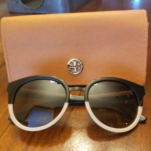 Tory Burch Ladies 53mm Panama Sunglasses
